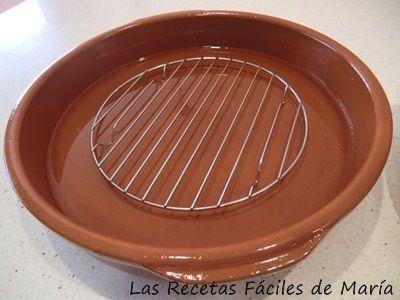 utensilios para asar Cochinillo o Tostón al horno