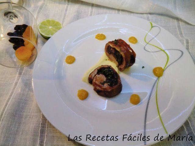 Cordero relleno Frutas de Temporada y Cítricos receta