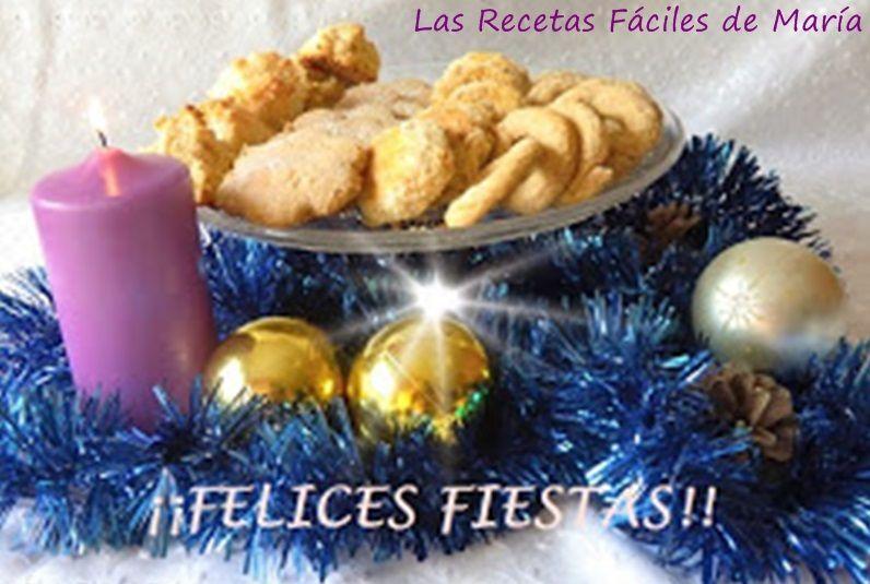 Felices Fiestas 2015recetas de Fiesta para Nochebuena y Navidad muy sencillas de preparar Las Recetas Fáciles de María