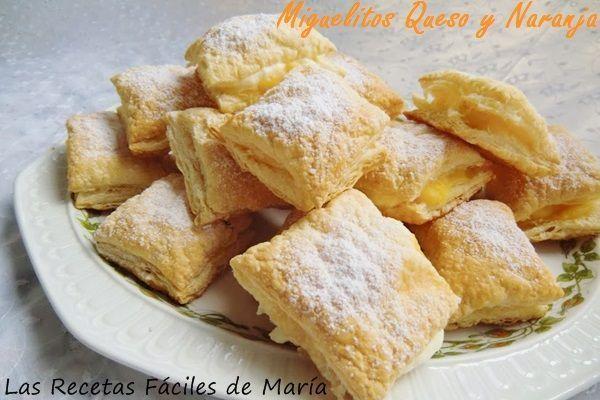 miguelitos de queso y naranja