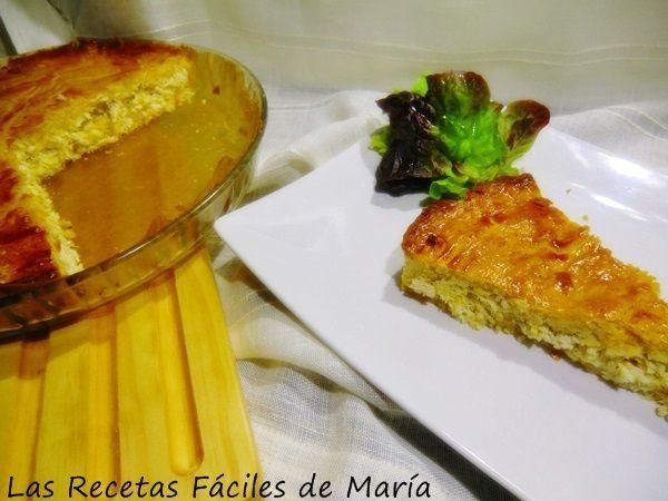Pastel de Cierva receta Murciana presentación