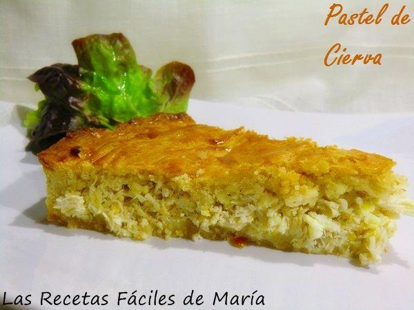 Pastel de Cierva receta Murciana