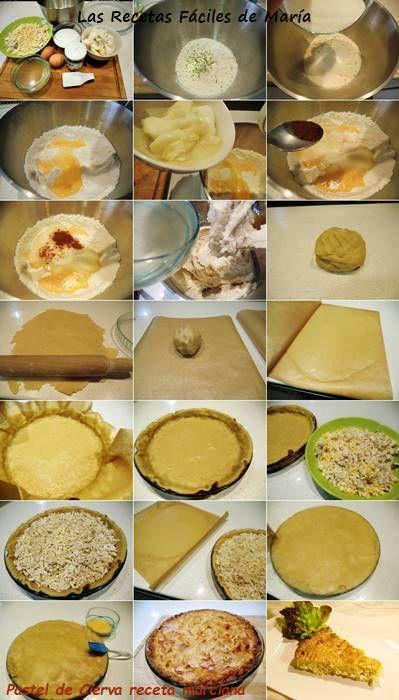 Pastel de Cierva receta paso a paso