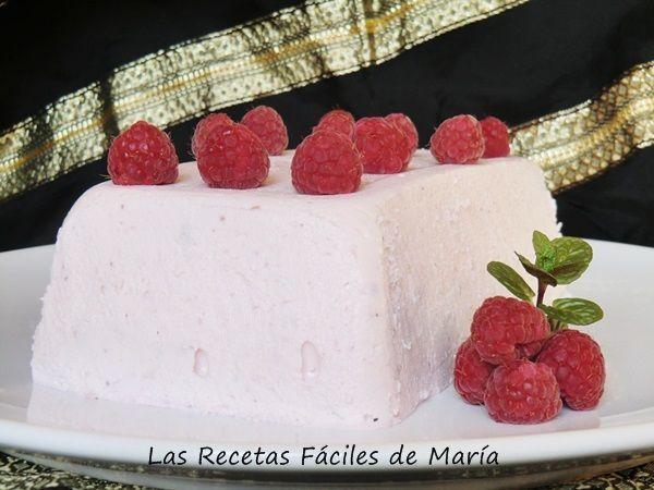 receta pastel fresas y frambuesas sin chocolate #lasrecetasfacilesdemaria