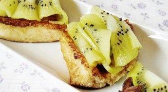 receta torrijas con kiwi más frescas