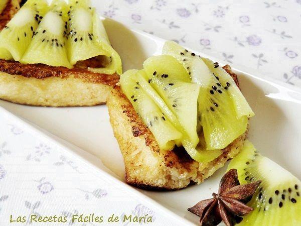 Torrijas Con Kiwi Más Frescas