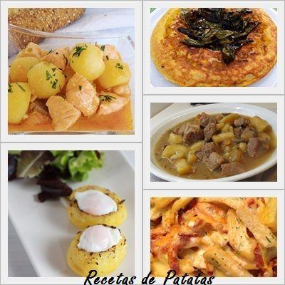 recetas con patatas recopilación
