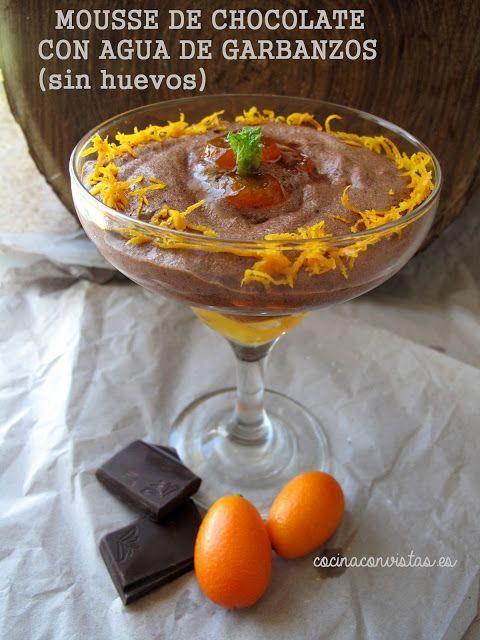mousse de-chocolate con aguafaba Cocina con Vistas para Ideas de Luna Llena Las Recetas Fáciles de María
