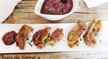 receta Pollo de Corral a la Barbacoa en GM las recetas fáciles de maría
