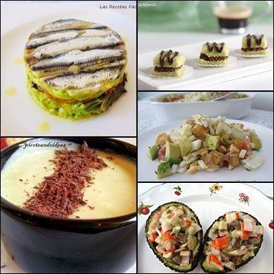 Recetas con Aguacate saladas y Dulces