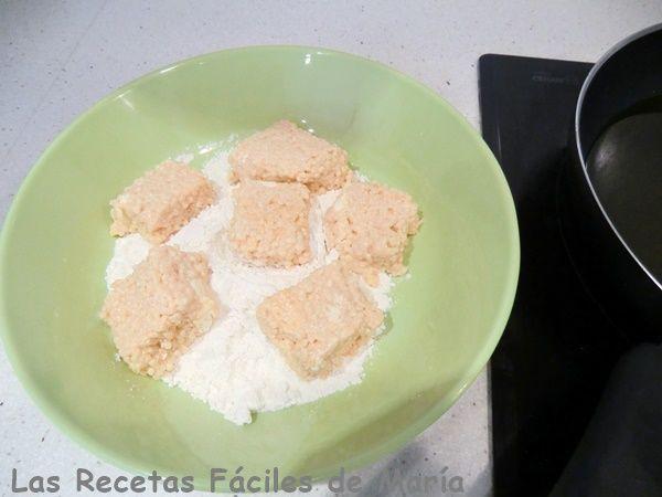 bocaditos de pasta con nata paso 8