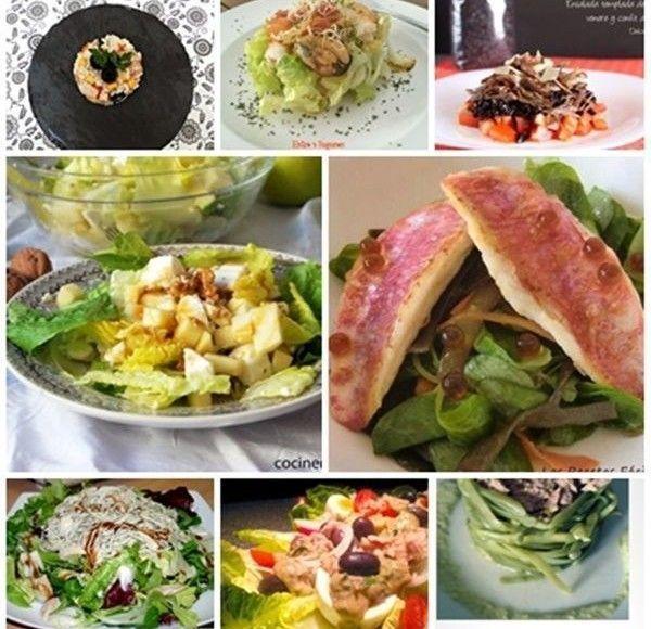 ensaladas originales selección de recetas recopilación