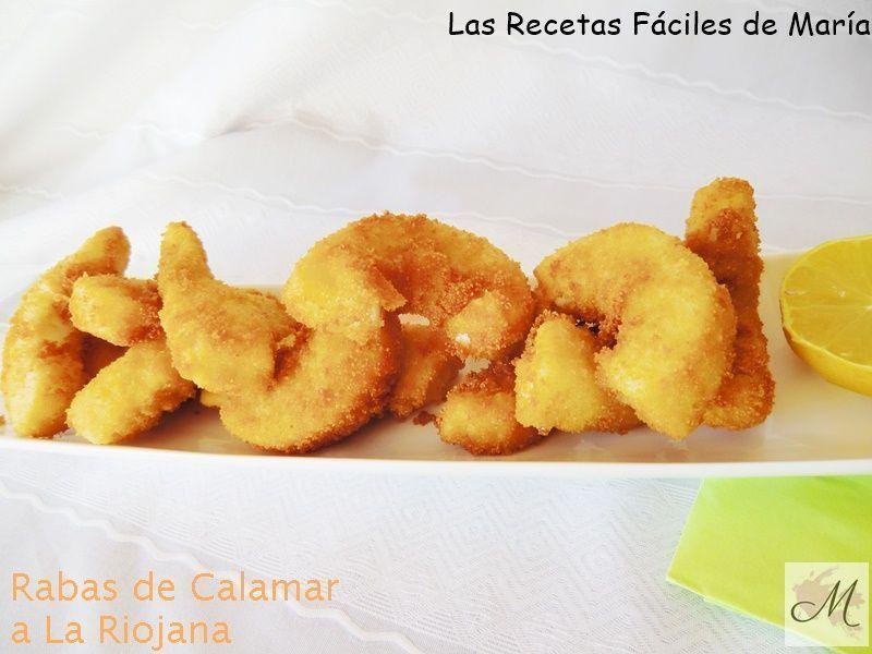 receta de rabas de calamar