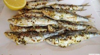 receta de sardinas de Santa Pola sin olor sin humos