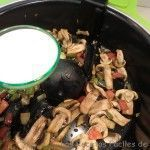 añadir leche de soja en salsa para tofu en salsa con cecofry
