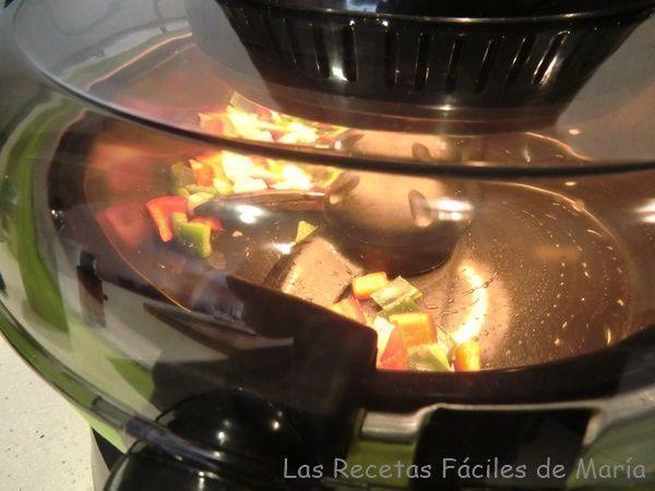 cocinar y programar verduras en cecofry