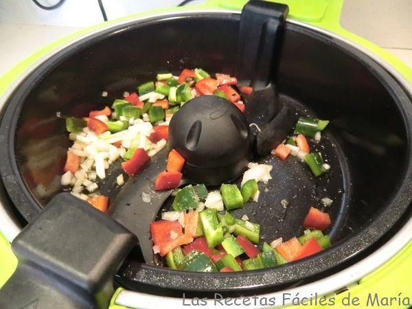 rehogar verduras en cecofry para tofu en salsa