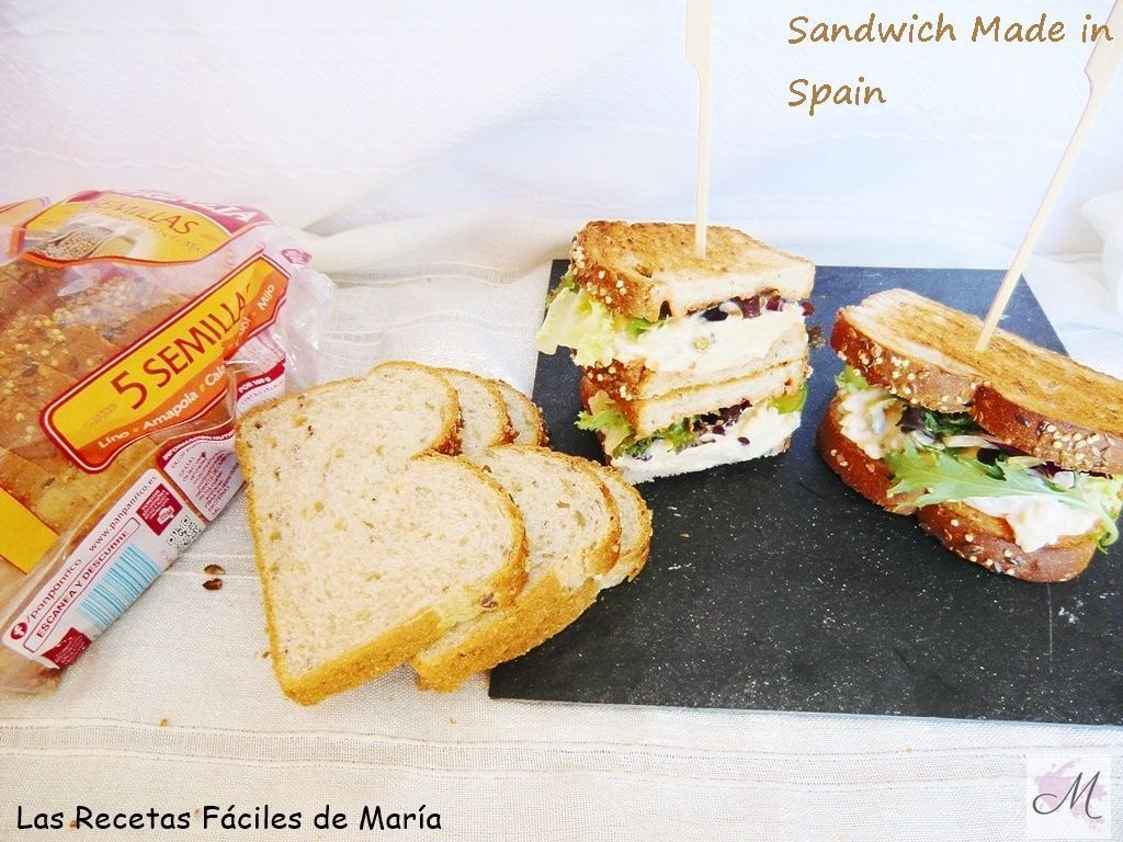 Sandwich made in Spain canal cocina concurso