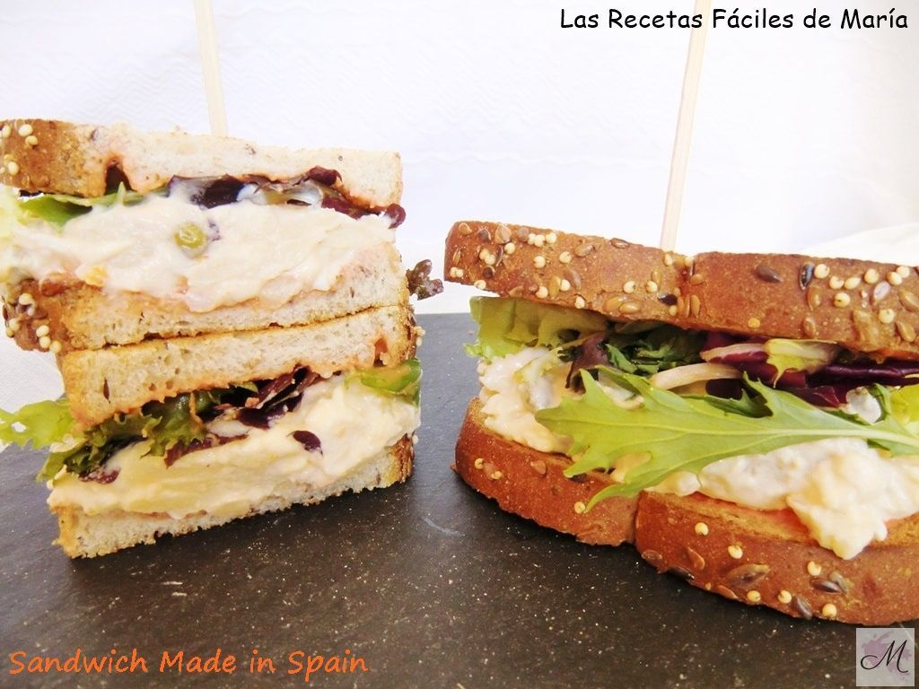 receta Sandwich Made in Spain