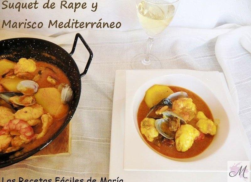 Suquet de Rape y marisco Mediterráneo sin gluten