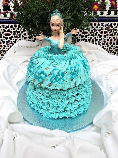 receta tarta vestido muñeca frozen 8 recetas con queso saladas y dulces