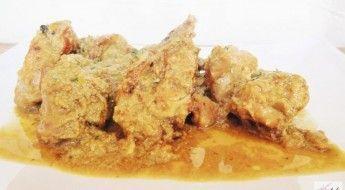 receta Conejo con Salsa de Almendras las Claves