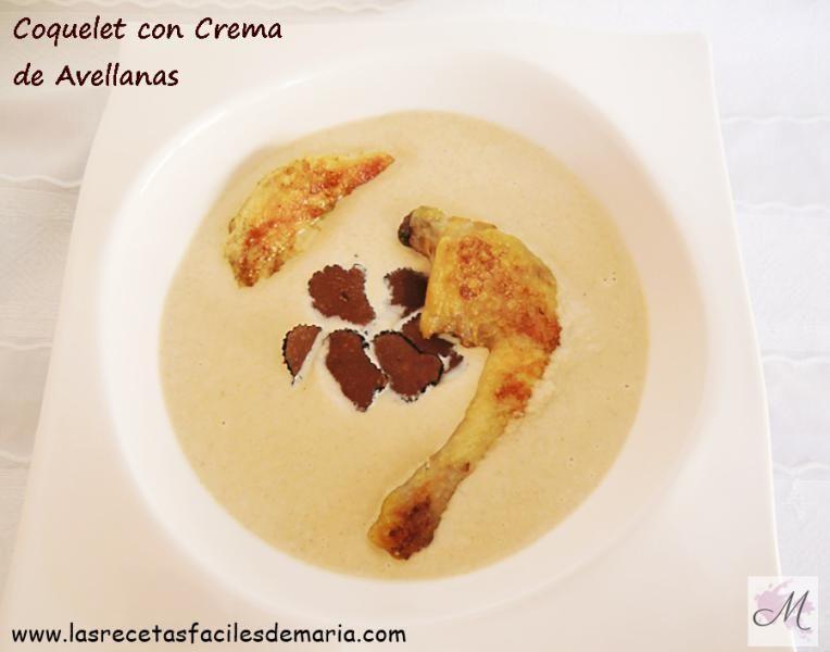 receta Coquelet-con-Crema-de-Avellanas-receta-fiesta