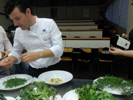 David Ariza  chef entrevista