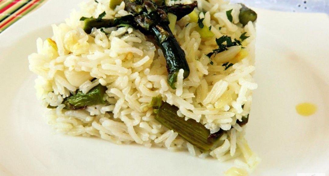 Arroz Basmasti en verde receta para niños