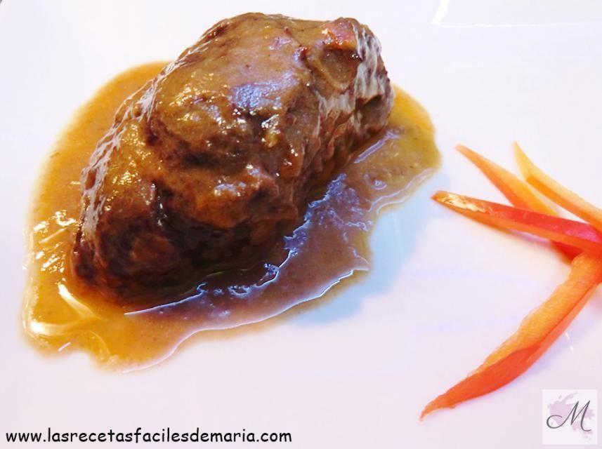 receta Carrilleras caramelizas con Tomate