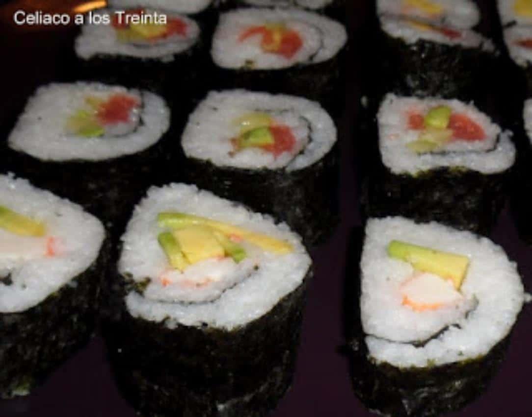 sushi sin gluten hecho en casa Celiaco a los 30/ Recetas de arroces fáciles y rápidas/ Las Recetas Fáciles de María