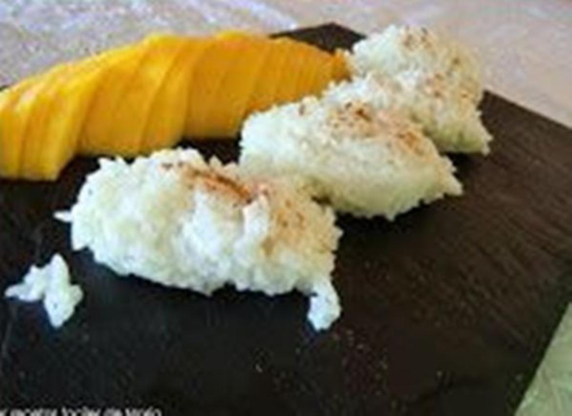 arroz con mango Kao Neuw Ma Muang en recetas de arroces fáciles y rápidas