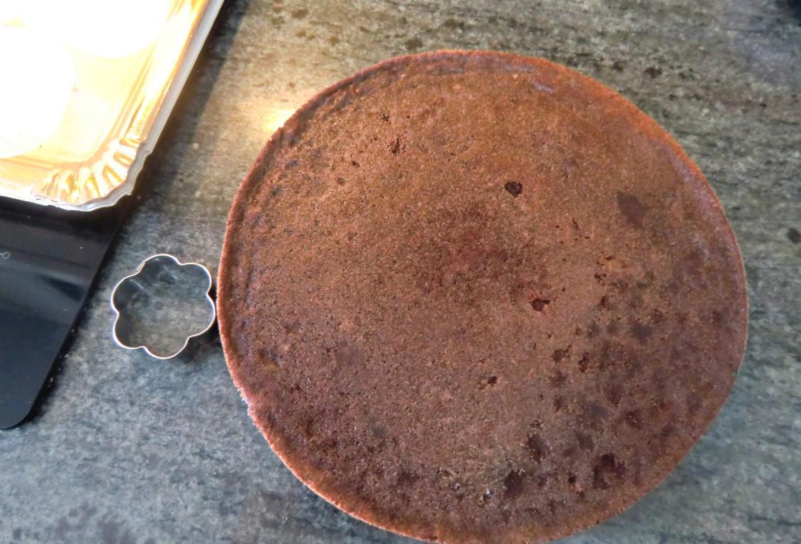 brownie de chocolate sin gluten horneado Las Recetas Fáciles de María