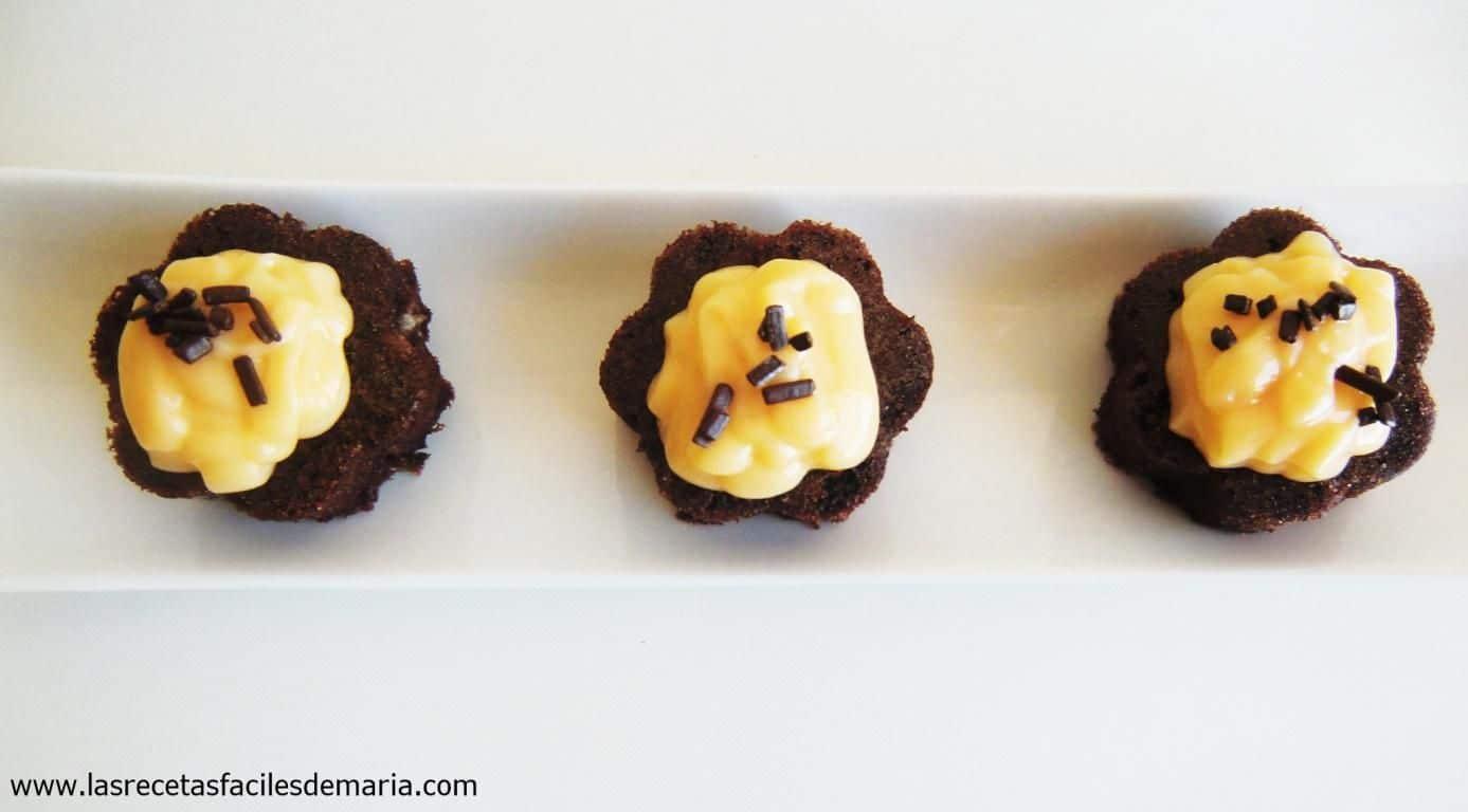 brownie de chocolate sin gluten con limón