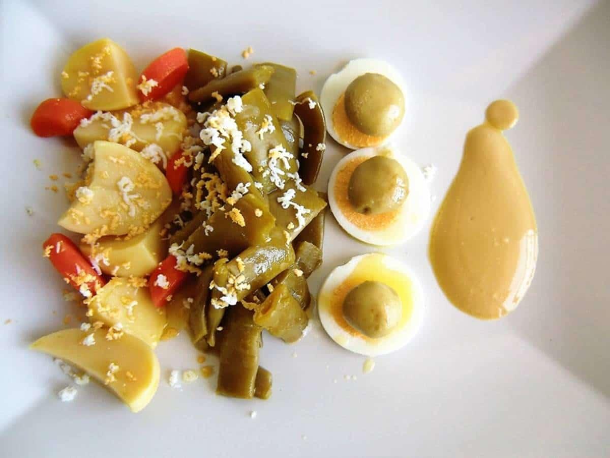 Ensalada fácil de judias verdes y salsa de yogur koikochu receta