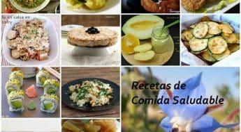 recopilación recetas de comida saludable vídeos