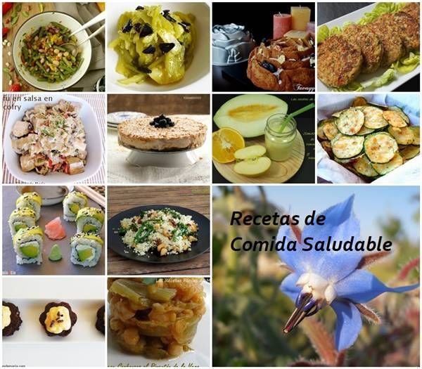 recetas de comidas saludables Las Recetas Fáciles de María