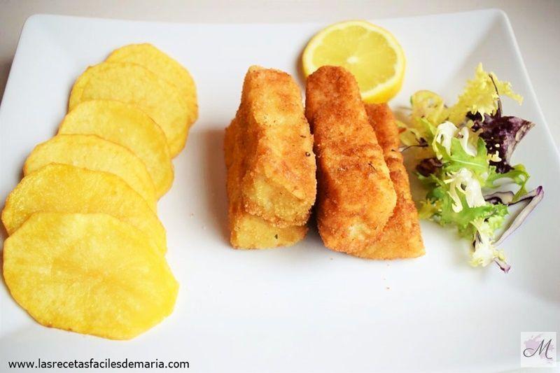 Comidas rápidas con pescado para niños Las Recetas Fáciles de María Fingers de Pescado y Patatas Españolas