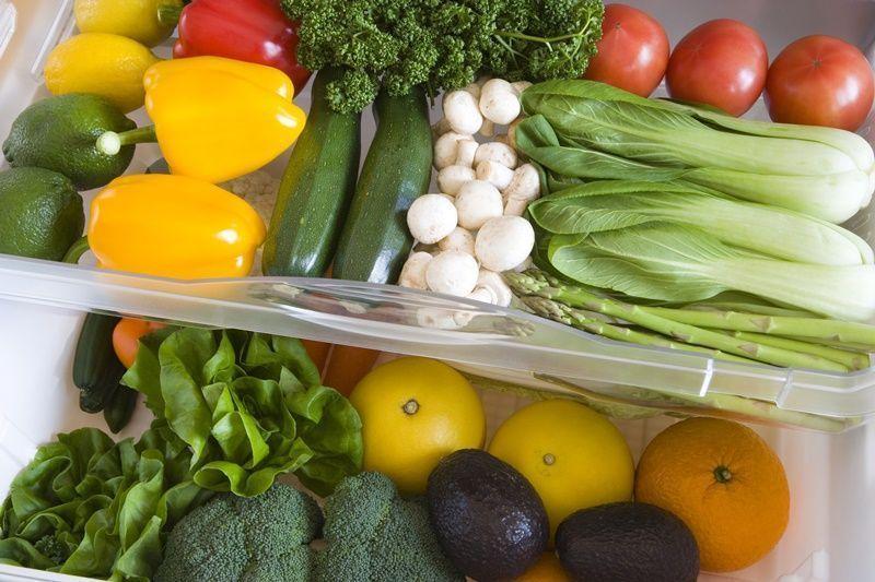 frutas verduras frigorífico congelador