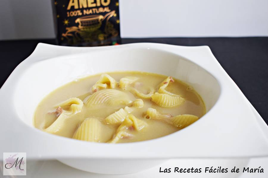 Sopa de Galets o Escudella Catalana  para Navidad