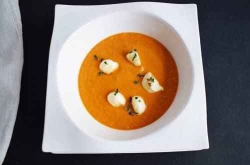 Sopa de Tomate Cremosa receta de cocina