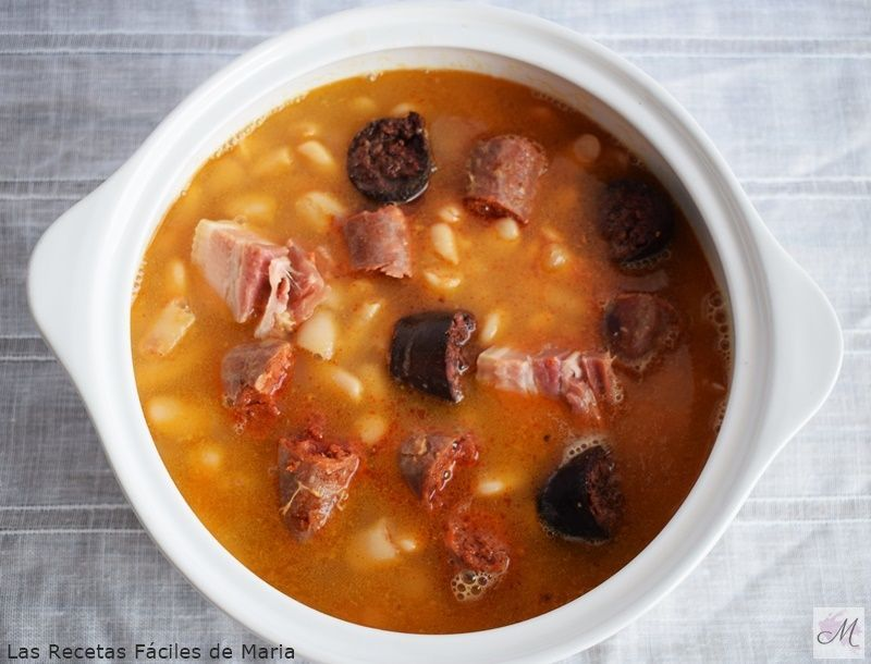 como hacer fabada asturiana receta Tradicional