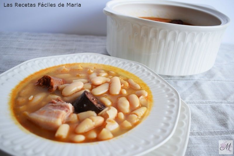 Fabada Asturiana receta tradicional cocina casera