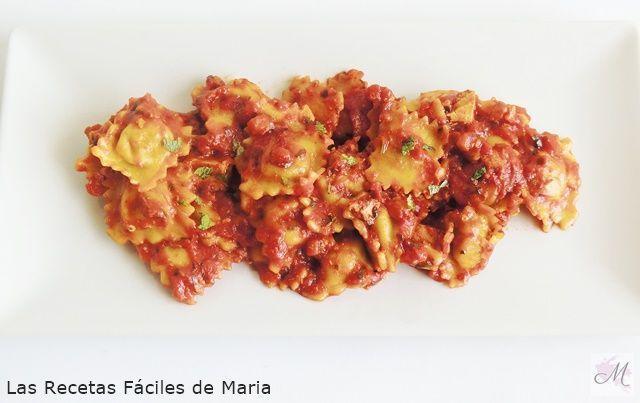 Raviolis con queso de Cabra Menús para adelgar dietbot un buen descubrimiento