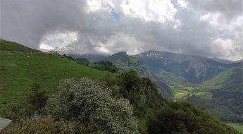Vistas Valle de Roncal Mirador de Isaba Bloggers Gastronómicos #BloggersQuesoRoncal