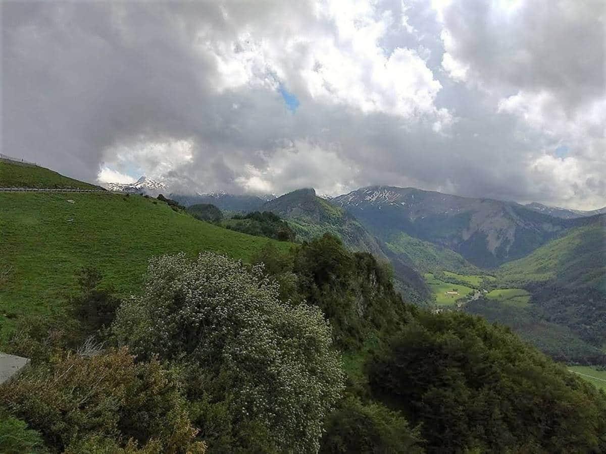 Vistas del Valle de Roncal Mirador de Isaba #BloggersQuesoRoncal