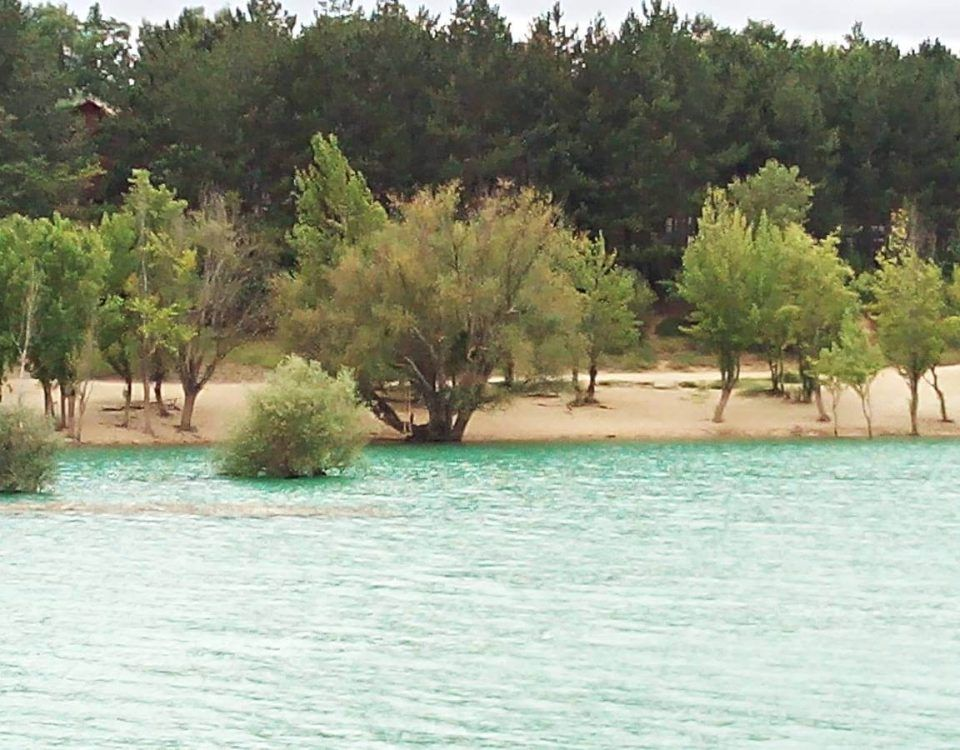 Embalse de Alloz playa Embalse de Alloz un lugar para no perderse