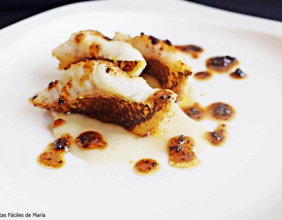 Maragota o Pinto con Yuca receta fácil de pescado