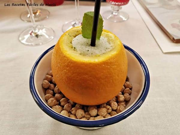 Sorbete de Limón al Cava Riojano Benito Escudero