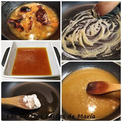 como se hace salsa española de cerdo
